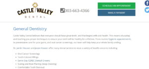 General Dentistry at Castle Valley Dental