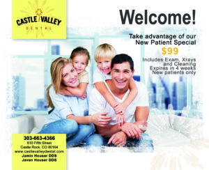 New Patients at Castle Valley Dental