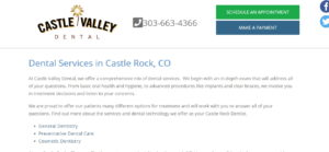 Services at Castle Valley Dental